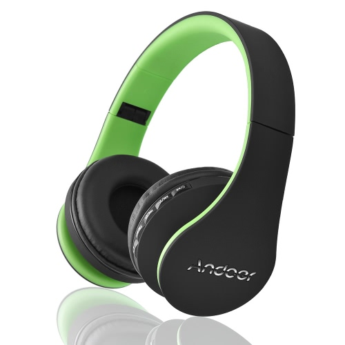 Andoer LH-811 Stereo Bluetooth Headset Bluetooth 4.1 + EDR 4 in 1
