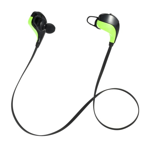 S102 Wireless Bluetooth Stereo Headset Bluetooth 4.0 In-ear Earphone Hands-free with Mic Voice Prompt Green for iPhone6S Plus Samsung LG Laptop Smart Phones Tablet Other Bluetooth-enabled Devices