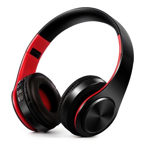 Fones de ouvido sem fio BT 4.0 EDR com microfone
