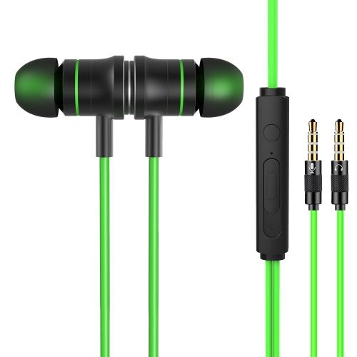 JIES V5 3,5-мм игровая гарнитура Стерео музыкальные наушники с микрофоном