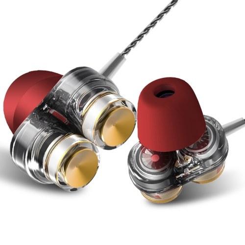 QKZ KD7 3,5 mm con cable en la oreja los auriculares
