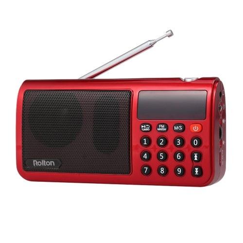 Rolton T50 FM+MW+SW 3-Band Digital Radio