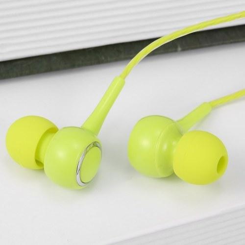 3.5mm Wired Headphone In-Ear Headset Stereo Music Earphone