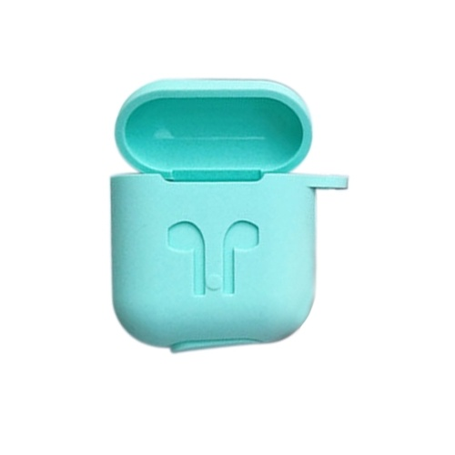 Silicone Case for Apple AirPods Wireless BT Headset Protective Storage Box Cover Pouch