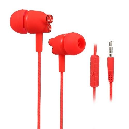 3.5mm fones de ouvido com fio fones de ouvido fones de ouvido fones de ouvido com microfone
