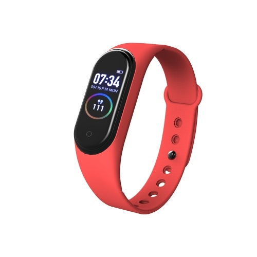 M4 Smart Bracelet Heart Rate Monitor Smart Band Blood Pressure Measurement Pedometer Wristband IP67 Waterproof