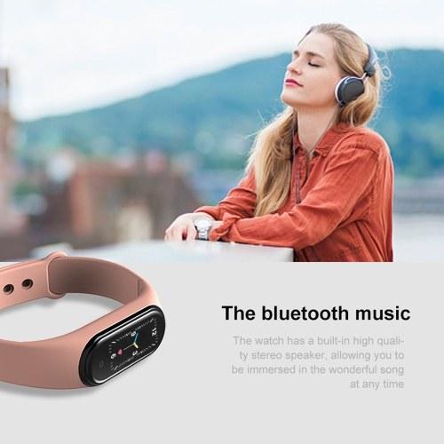 M5 Intelligence Wristband Heart Rate Blood Pressure Detector Wristbands Pedometer Sports Bracelet Waterproof Fitness Band
