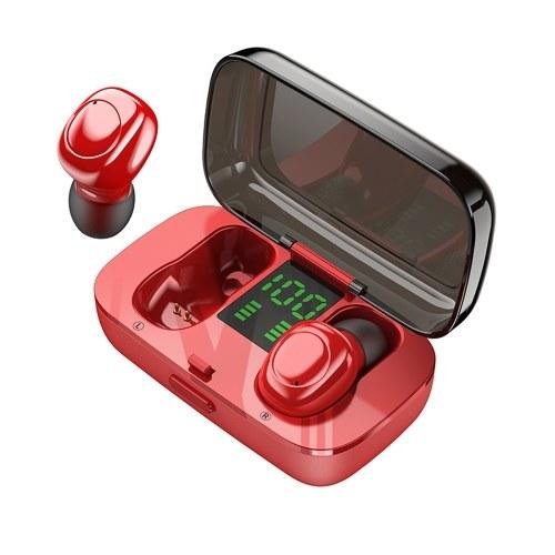 TWS Bluetooth V5.0 Наушники 6D Surround Беспроводная IPX6 Водонепроницаемая гарнитура