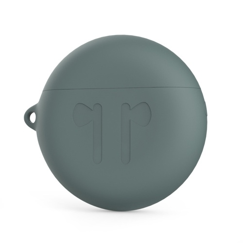 Fones de ouvido de silicone caso capa à prova de choque shell fone de ouvido grosso e durável adequado para huawei freebuds3