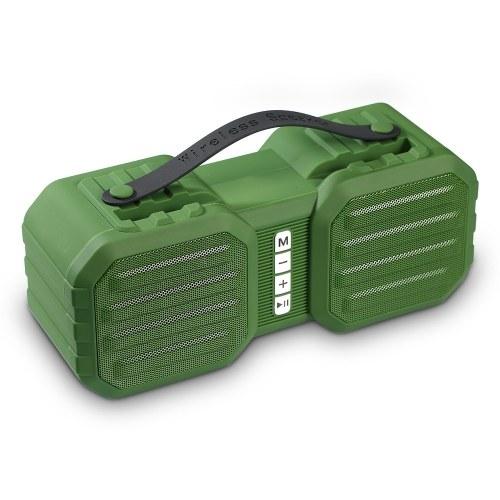 X8 Wireless Bluetooth Speaker Portable HiFi Multi-function Soundbox TWS Stereo Sound Support TF/U Disk/AUX IN/Phone Bracket/FM Radio