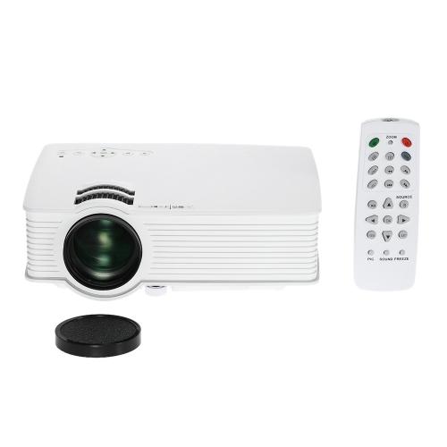 GP9 Pro Mini Portable HD LCD LED Projector Home Cinema Theater Business projector PC Laptop IR/USB/SD/HD/AV