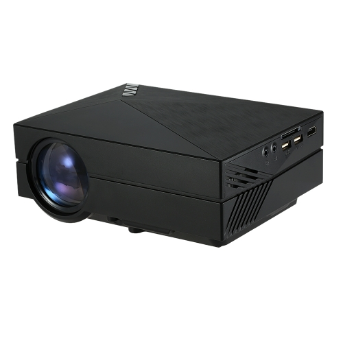 GM60 Multimedia LED Projector HD 1080p Home Cinema Theater Portable Business Projector USB / SD / VGA / HD / AV for PC Laptop Notebook