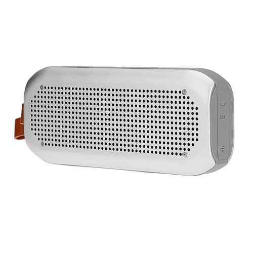 A3 sans fil Bluetooth stéréo haut-parleur Bluetooth 4.0 NFC imperméable à l'eau AUX mains-libres Silver pour iOS / Android Smart Phones autres périphériques Bluetooth-enable