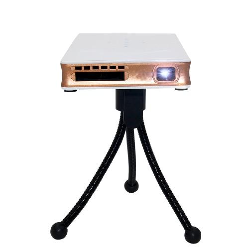 P8 Mini DLP Projector w/Android 4.4 Smart TV Box 1GB/8GB KODI / XBMC DLAN 2.4G&5G Dual-band Wi-Fi Bluetooth 4.0 HD USB TF for Home Theater Education Business