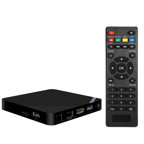 Mini M8SII Smart Android 6.0 TV Box S905X 2GB / 8GB BT 4.0 US Plug