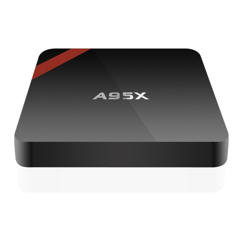 A95X Smart Android TV Box Android 6.0 Amlogic S905X Quad-Core 64 bit VP9 UHD 4K 1G / 8G  Mini PC WiFi & LAN H.265 DLNA Miracast HD Media Player UK Plug