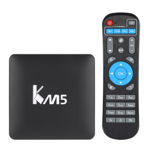 KM5 Android 6.0 S905X TV Box KODI 17.0 -1G + 8G