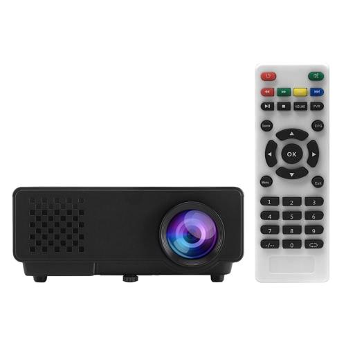"""RD-810 Full Color 1080P 100 """"LED проектор 1000 люмен 1500: 1 Контрастность"""
