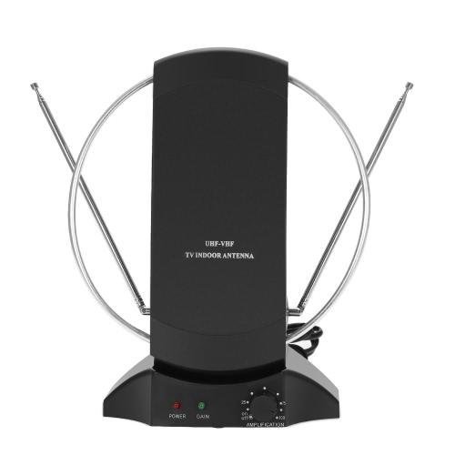 LAN-1014 Amplified Антенна HDTV Внутренняя цифровая телевизионная антенна 50 миль Диапазон 36 дБ