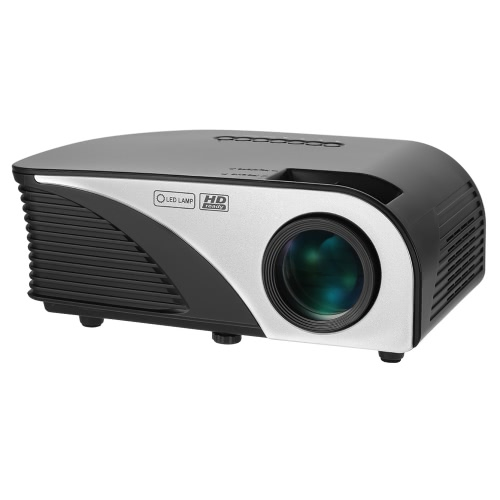 1200 Lumens Projector Rigal Portable 1080P Светодиодный проектор Throw 100