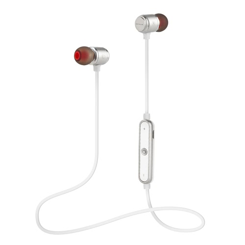 Sports Wireless Magnetic BT 4.1 Headphone Stereo In-ear Headset Noise Reduction with Microphone