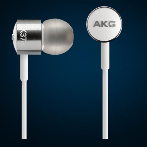 AKG K376 Высокопроизводительная наушники-вкладыши с встроенным микрофоном с одной кнопкой и элементами управления Silver