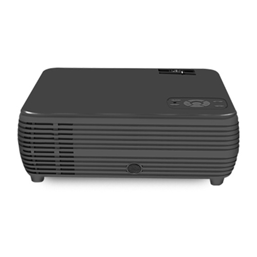 "X5 Mini LCD Projector 1080P 100"" Home Theater LED Video Projection Machine 1800 Lumens Built-in Speaker Portable Beamer Movies Player for Office Business Use US Plug"