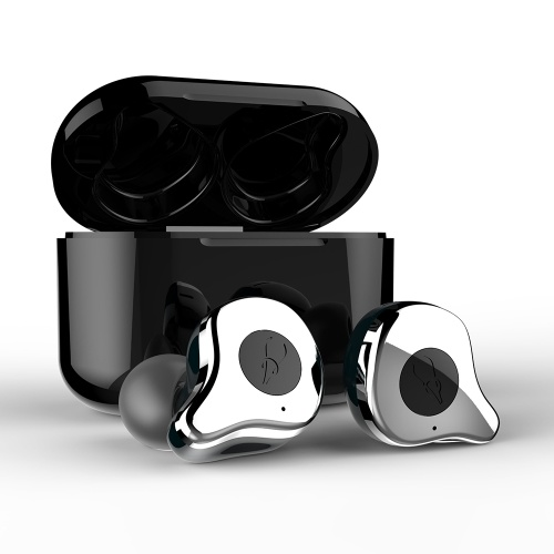 Sabbat E12 TWS Wireless Bluetooth Headphones In-ear Headsets Bluetooth 5.0 Auto-pairing w/ 750mAh Charging Box Supporting Wireless Charge