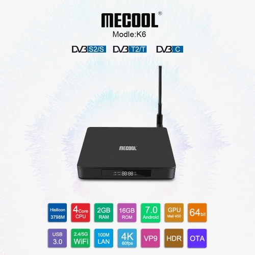 MECOOL K6 Android TV BOX ...