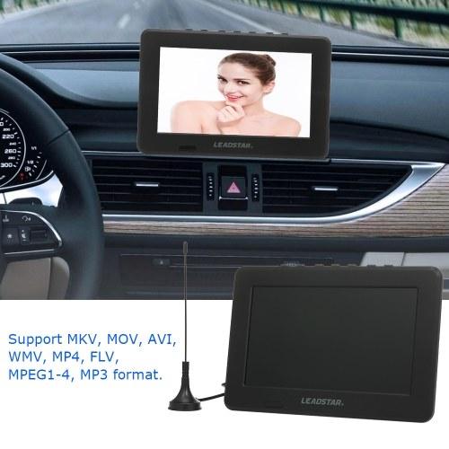 LEADSTAR Mini 7 inch ATSC Digital Analog Television 800x600 Resolution Portable Video Player Support PVR USB TF Card 800mah Battery