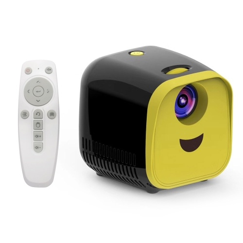 Mini LCD Projector Support 1080P Kids Projector Built-in HiFi For Home Media Player