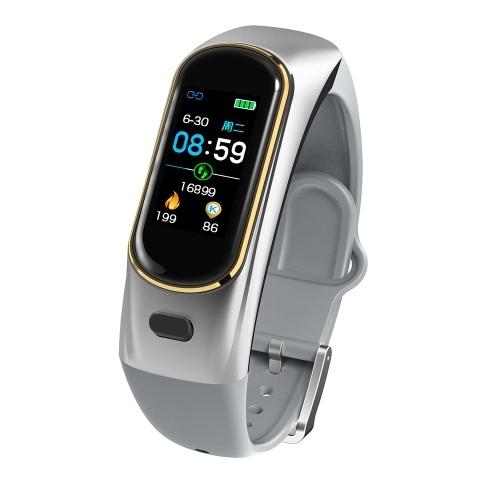 H109 Sports BT Earphone Watch Intelligent Heart Rate Blood Pressure Monitoring Waterproof Running Fitness Watch