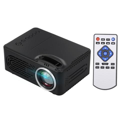 Projecteur LED Mini projecteur vidéo portable 400 lumens