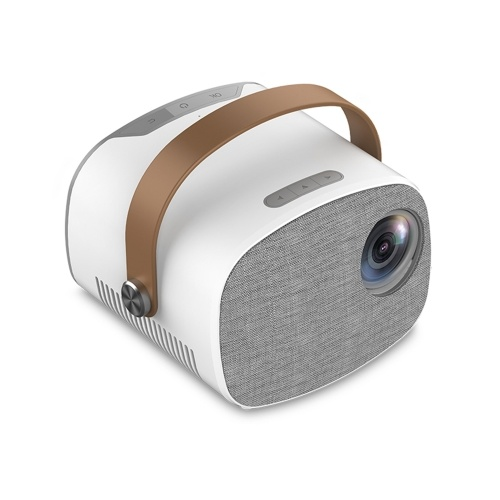 YG230 Mini Portable Projector Full HD 1080P Video Beamer Home Theater Multiscreen Media Player Support HD USB Micro USB AV TF Card Input Video Player