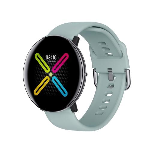 DM118 Smart Watch 1,3-Zoll-Touchscreen-Körpertemperaturmessung Gesundheit Schlafmonitor Blutdruck Herzfrequenz IP67 Wasserdichte Smartband-Uhr