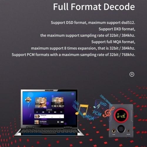 XDuoo XA-10 High Performance Balanced DAC & Headphone Amplifier 768K/32Bit HiFi Headphone Amplifier USB DAC AMP Multi-function Optical Coaxial Headpho