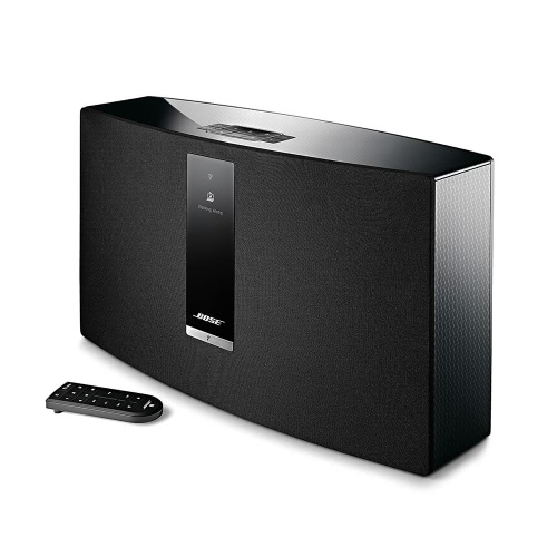 bose soundtouch 30 iii wireless bt speaker stereo music home theater support dual-band wi-fi aux usb ethernet port play for smart phones computers laptop home use