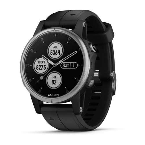 Garmin fēnix 5S Plus GPS Smartwatch with Contactless Payments and Wrist-based Heart Rate Waterproof thumbnail