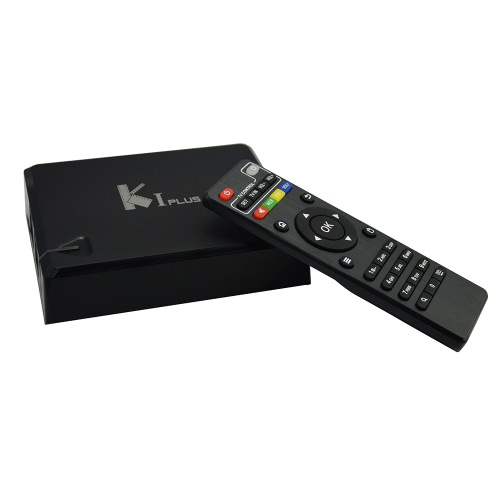 KI PLUS Smart Android TV BOX Android  5.1.1  Amlogic S905 Quad Core 64-bit 1G / 8G UHD4K 3D HDMI2.0 Mini PC KODI XBMC Miracast DLNA Smart Media Player with Remote Controller