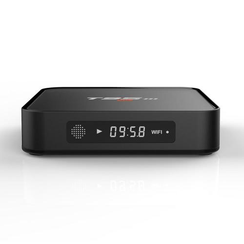 T95m Smart Android TV Box Android 6.0  Amlogic S905X Quad-Core 64 bit XBMC UHD 4K 1G / 8G Mini PC WiFi & LAN H.265 HD Media Player EU Plug
