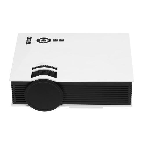 UC46 LED Projecteur 800 * 480 Pixel 1200 Lumens 800: 1 Rapport de contraste Blanc EU Plug