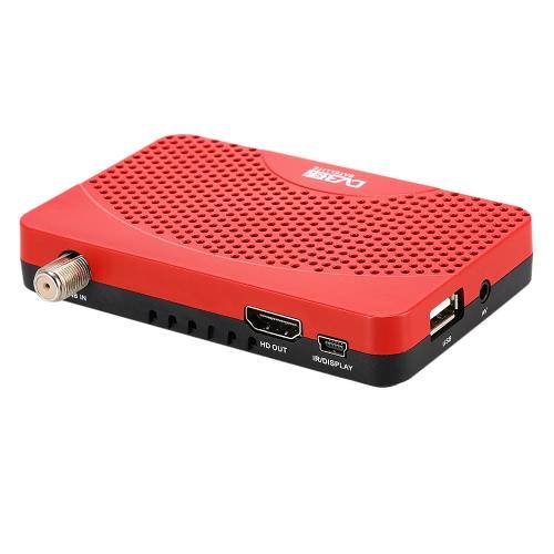 DVB-S2 Digital Video Broadcasting récepteur Full HD 1080p décodeur numérique Compatible avec la norme DVB-S MPEG2/4 H.264 w / télécommande pour la TVHD