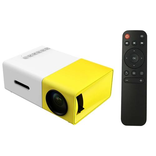 YG300 YG 300 Mini tragbarer geführter Projektor 1080P