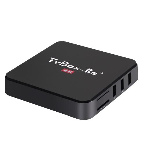 TV BOX R9+ Smart Android TV Box Android 5.1 RK3229 Quad-Core KODI 16.1 UHD 4K 10-bit 1GB / 8GB Mini PC Wi-Fi H.265 DLNA Streaming Media Player US Plug