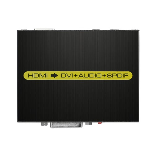 AK-M624 HDMI к DVI конвертер HDMI 1080P вход DVI-D AUDIO Выход SPDIF Адаптер для PS3 XBOX 360 Blu-Ray DVD HD Set-Top Box ЕС Разъем