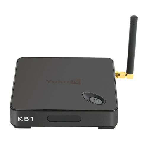 YoKoTV KB1 Smart Android 6.0 TV Box Amlogic S905X Quad Core 64bit 2GB/16GB KODI17.0 XBMC VP9 UHD 4K HD Mini PC 2.4G & 5G WiFi Airplay Miracast Bluetooth 4.0 Media Player US Plug