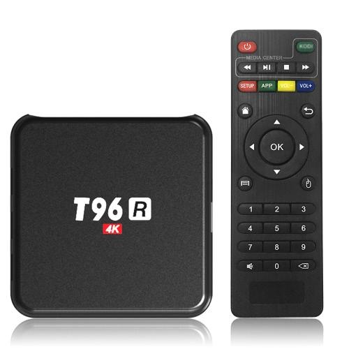 T96R Smart Android 5.1 TV Box RK3229 Quad Core 32bit H.265 HEVC UHD 4K VP9 Mini PC LAN WiFi DLNA Airplay Miracast Media Player
