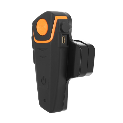 BT-S2 Motorcycle Helmet BT Intercom Waterproof Wireless Interphone