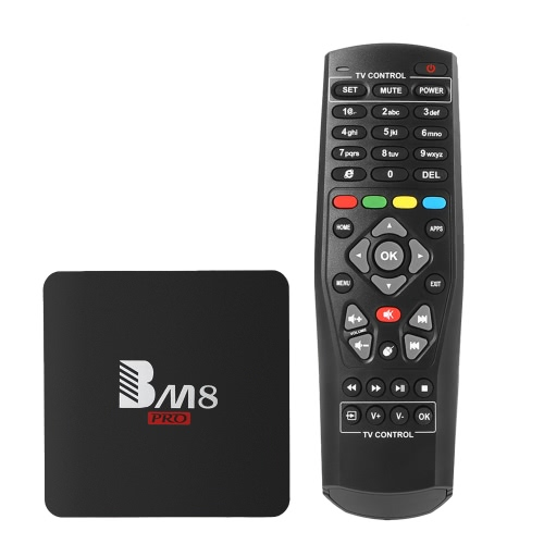 BM8 PRO Android TV Box 2 Go + 32 Go EU Plug