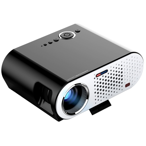 """GP90 Projector Full Color 280 """"Светодиодный проектор 3200 ANSI Lumens 1280 * 800 пикселей 10000: 1 Контрастность"""